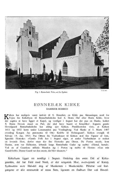 Rønnebæk Kirke