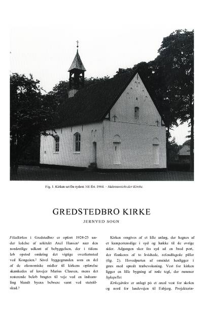 Gredstedbro Kirke