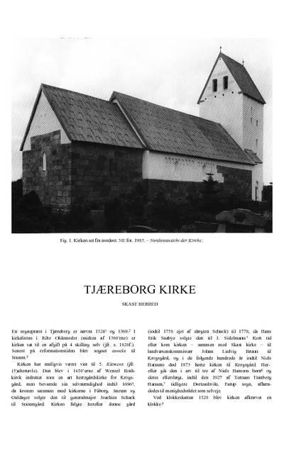 Tjæreborg kirke