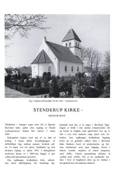 Stenderup Kirke