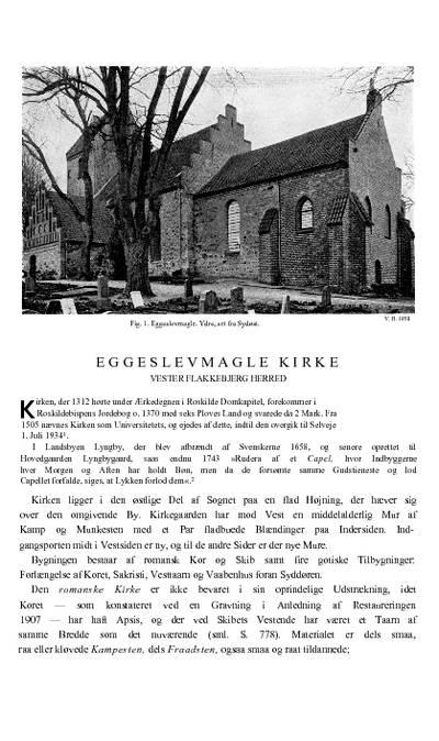 Eggeslevmagle Kirke