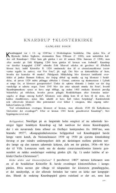 Knardrup Klosterkirke