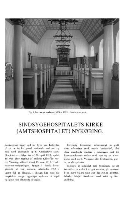 Sindsygehospitalets Kirke