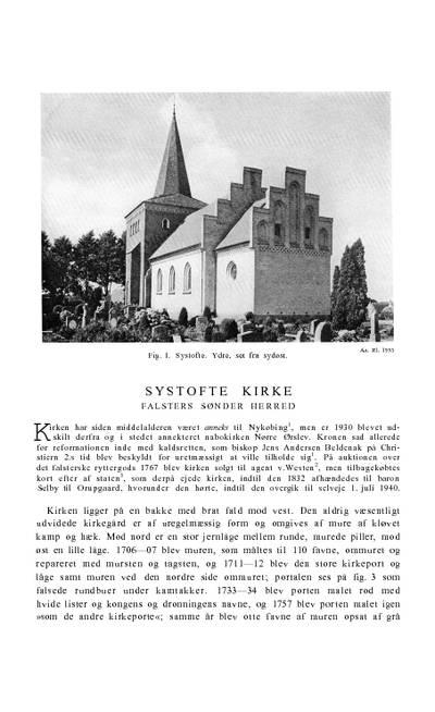 Systofte Kirke
