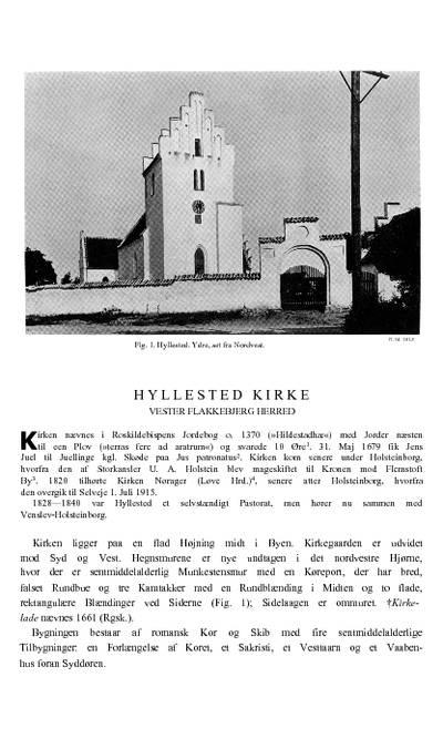 Hyllested Kirke