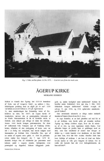 Ågerup Kirke