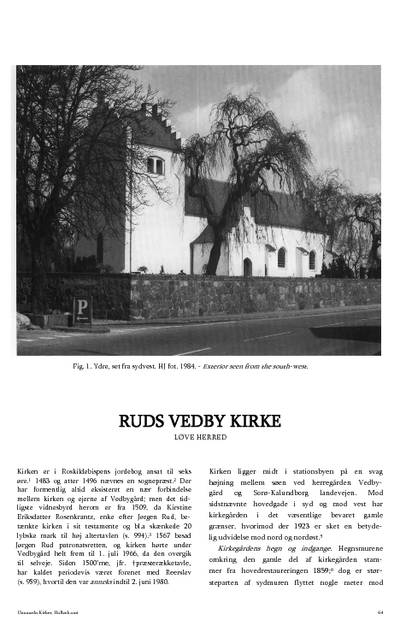 Ruds Vedby Kirke