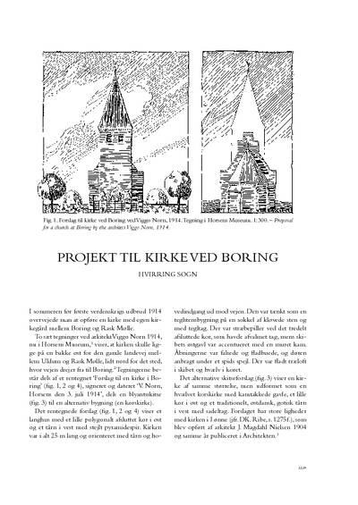 Boring †Kirke (ikke realiseret projekt)