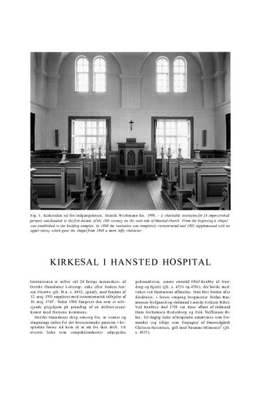 Hansted Hospitals kirkesal