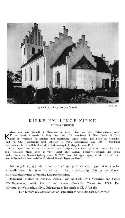 Kirke Hyllinge Kirke