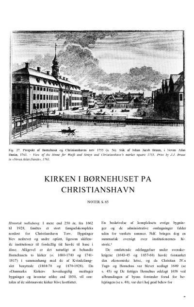 Kirken i Børnehuset på Christianshavn