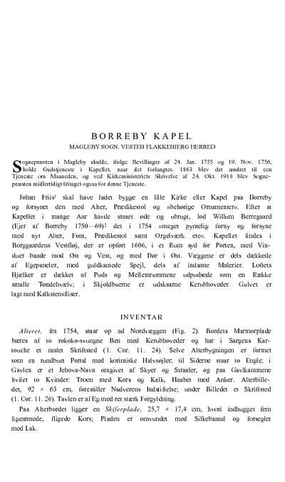 Borreby Kapel