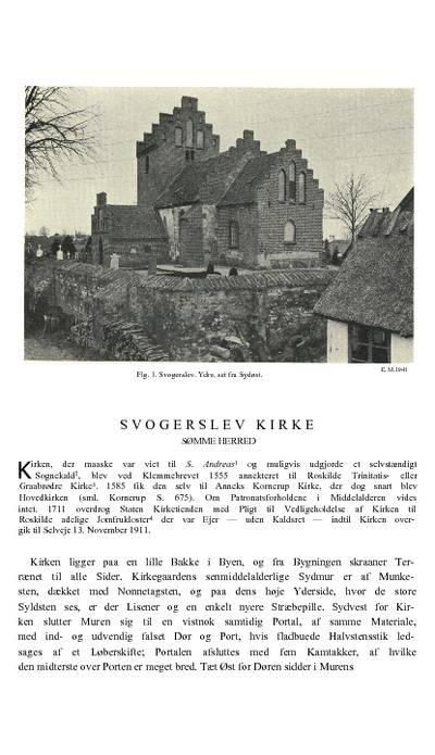 Svogerslev Kirke