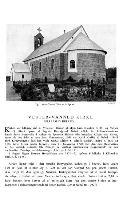 Vester Vandet kirke