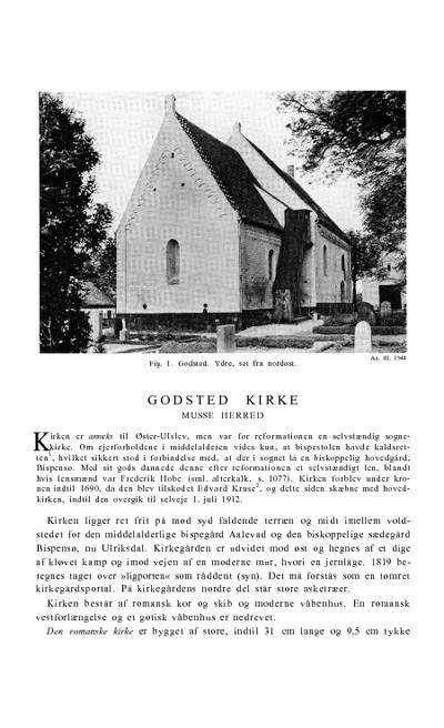 Godsted Kirke