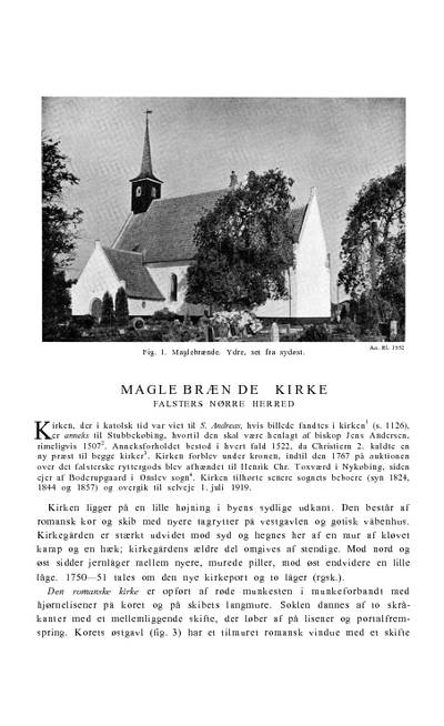 Maglebrænde Kirke