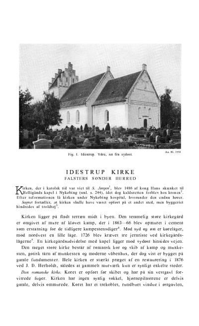 Idestrup Kirke
