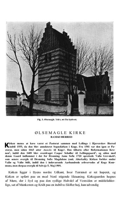 Ølsemagle Kirke