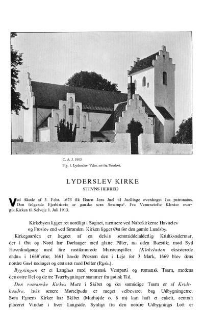 Lyderslev Kirke