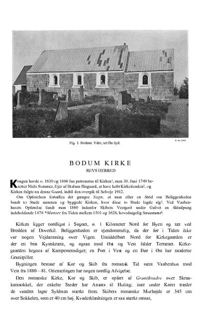 Boddum Kirke