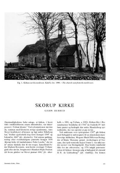 Skorup Kirke
