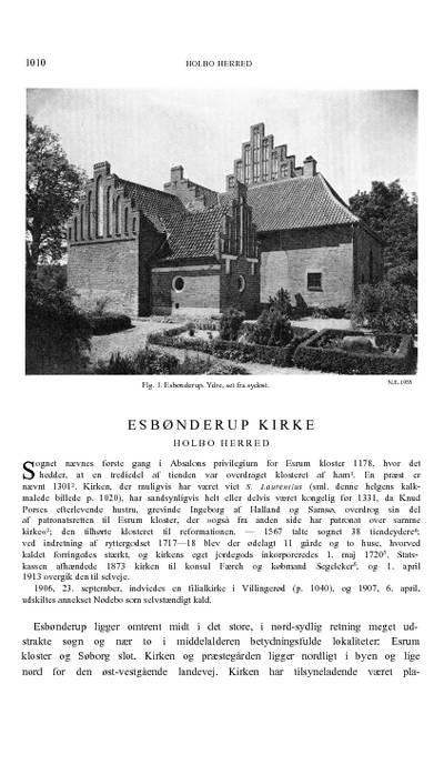 Esbønderup Kirke