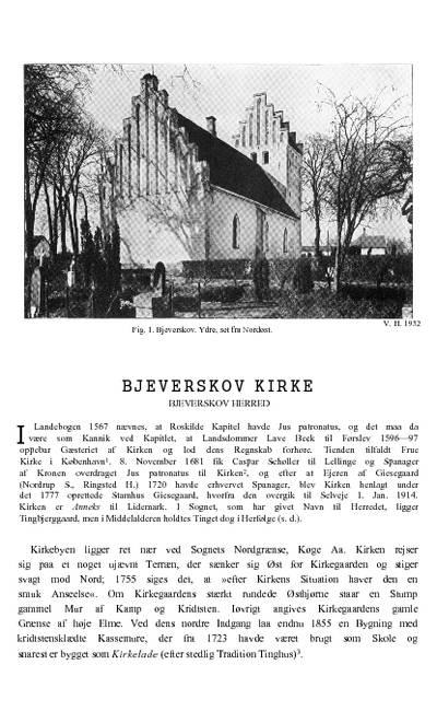 Bjæverskov Kirke