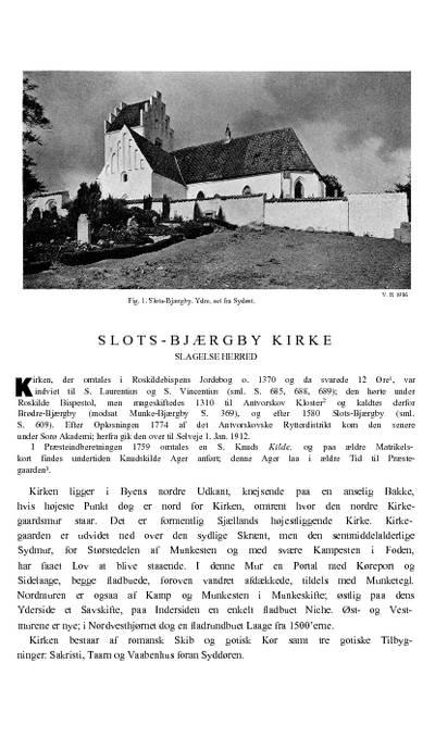 Slots-Bjærgby Kirke