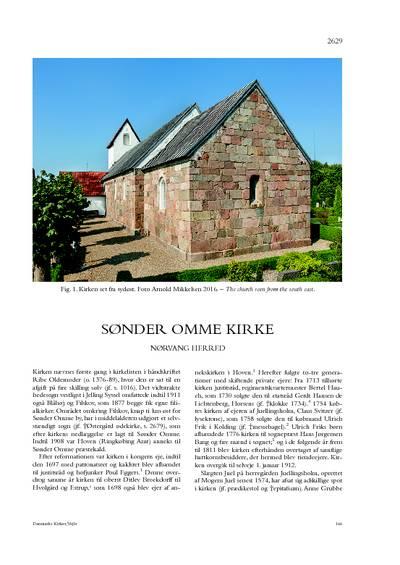 Sønder Omme Kirke