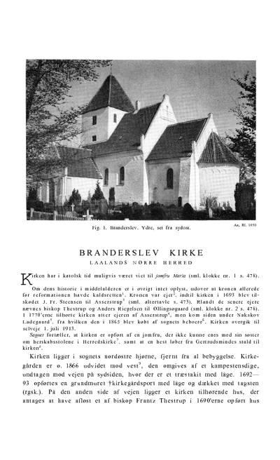 Branderslev Kirke