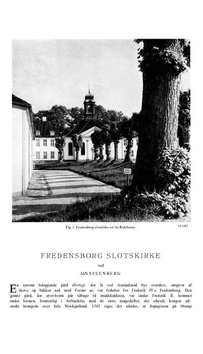 Fredensborg Slotskirke