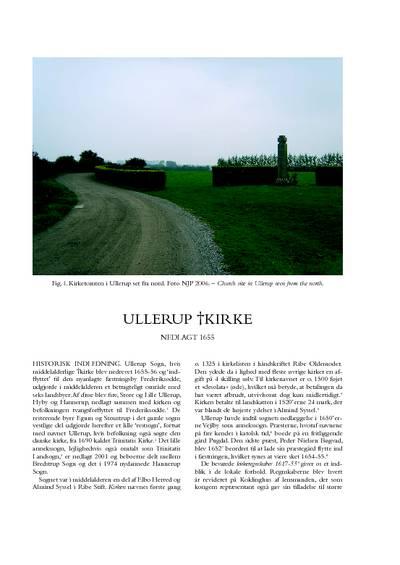 Ullerup †Kirke