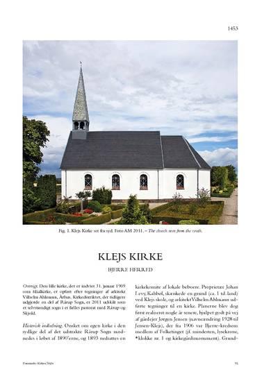 Klejs Kirke