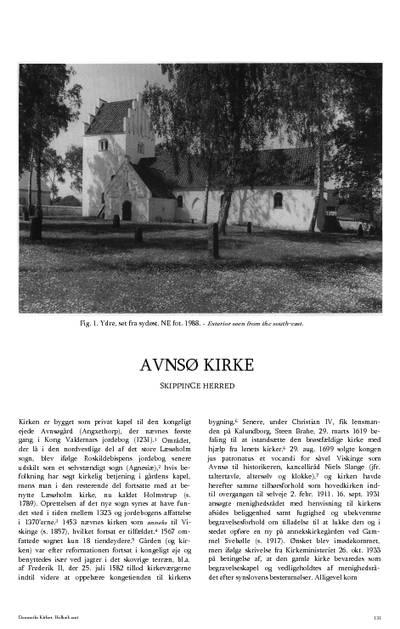 Aunsø Kirke