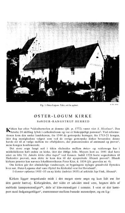 Øster Løgum Kirke