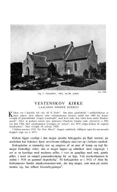 Vestenskov Kirke