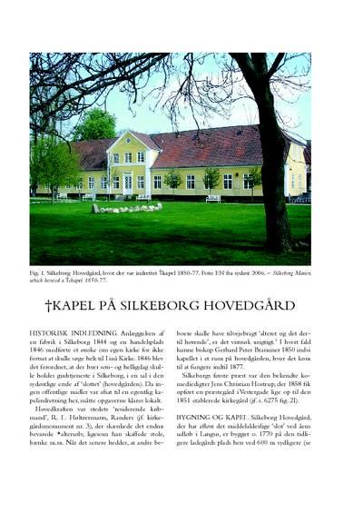 †Kapel på Silkeborg Hovedgård