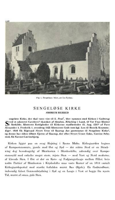 Sengeløse Kirke