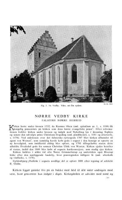 Nørre Vedby Kirke