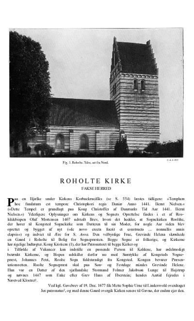 Roholte Kirke