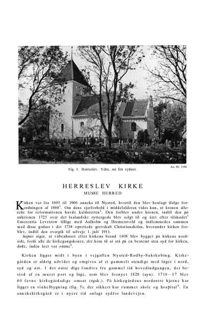 Herritslev Kirke
