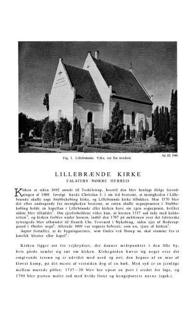 Lillebrænde Kirke