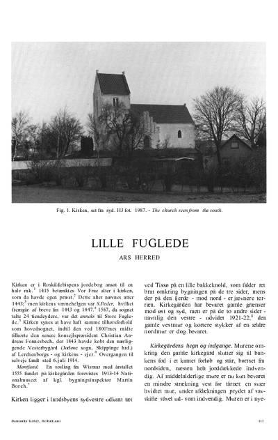 Lille Fuglede Kirke
