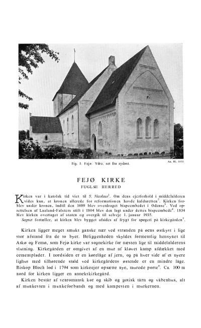 Fejø Kirke