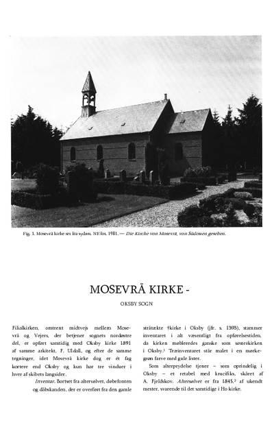 Mosevrå Kirke