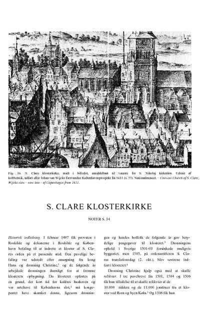 Skt. Clare Klosterkirke
