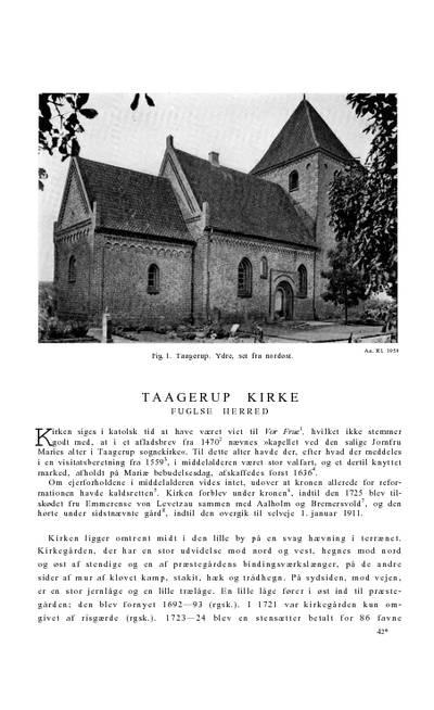 Taagerup Kirke