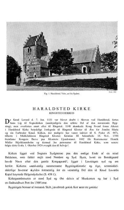 Haraldsted kirke