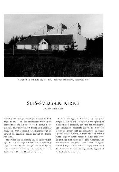 Sejs-Svejbæk Kirke