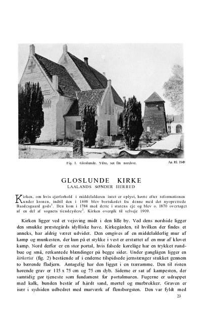 Gloslunde Kirke